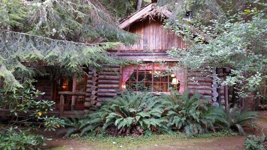 Guest House Log Cottages: The Log Cabin!  So cute