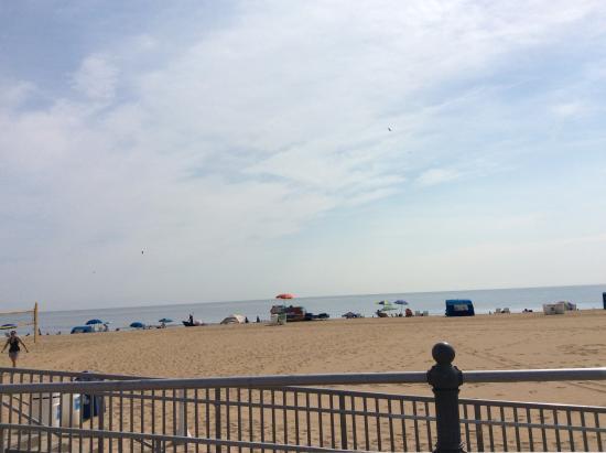 Virginia Beach View From The Boardwalk