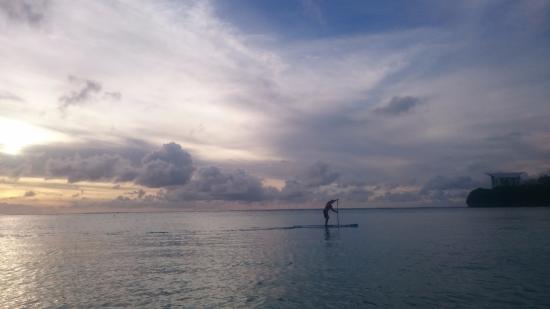 The Westin Resort Guam: ビーチからの景色