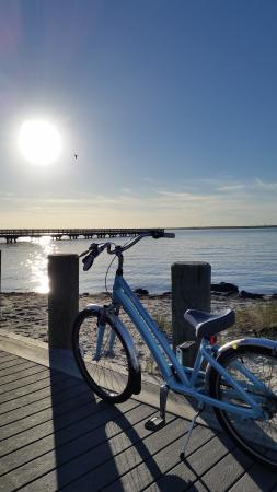 "Seaside Park, Nueva Jersey: ""A stop along the bay, before sunset"""
