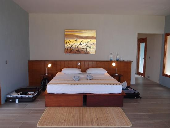 Bunaken Cha Cha Nature Resort: 室内