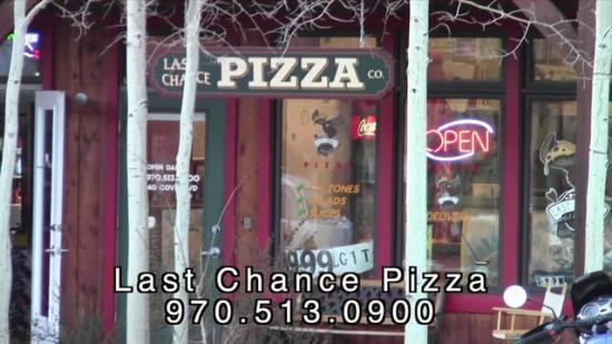 Last Chance Pizza: Last Chance Storefront
