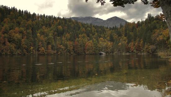 Fischerhutte am Toplitzsee: einfach wunderbar gelegen ....