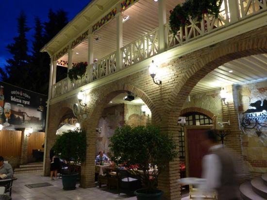 Грузинский дом ресторан тбилиси