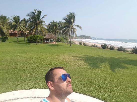 Las Alamandas: Todo un paraiso mexicano !!!!