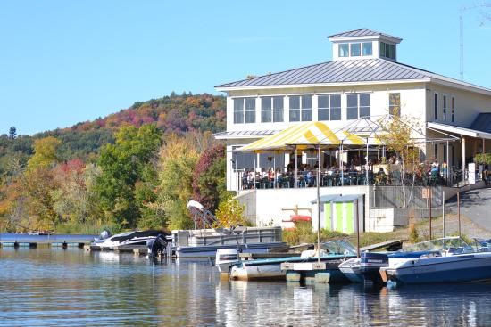 The Marina: Perfect Fall day