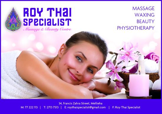‪Roy Thai Specialist Massage & Beauty Center‬