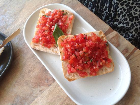 Panorama Restaurant and Bar: Bruschetta