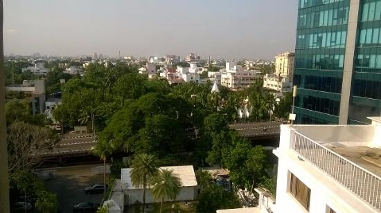Roof Top Dining Curry Town Picture Of Savera Hotel Chennai Madras Tripadvisor
