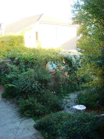 Le Chambellan: autre vue depuis la chambre
