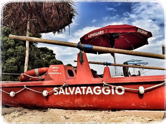 New Barcavela Hotel: Lifeguard :-)