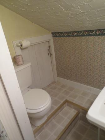 Bethel, ME: shared bath on the attic floor