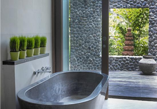The Purist Villas and Spa: Garden Suite Bath Tub