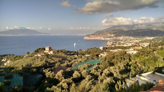 Il Nido Hotel Sorrento: From the balcony of the hotel restaurant