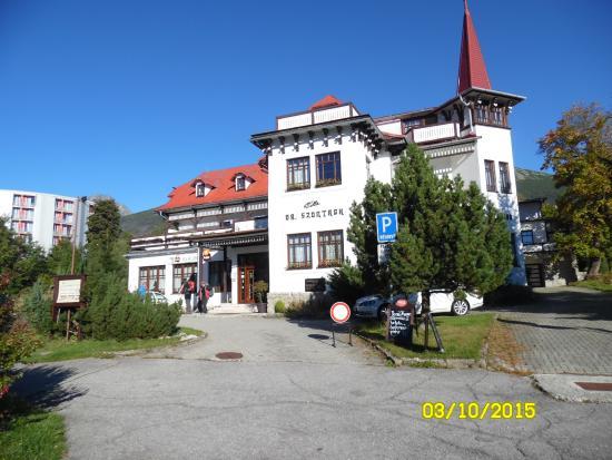 Villa Dr. Szontagh: Pohľad na Villu Szontagh