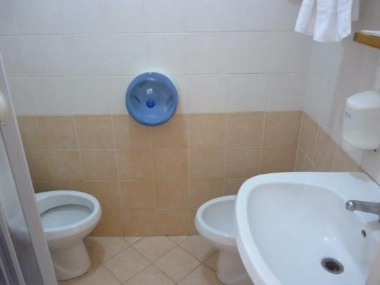 Bed & Breakfast BB Napoli Centrale: Санузел