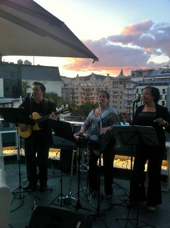 Terraza Al Aire Picture Of Condes De Barcelona Tripadvisor