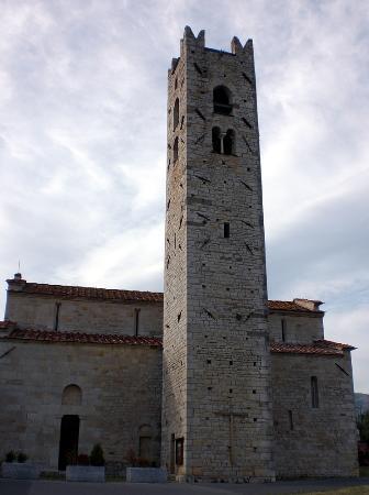 Chiesa San Pantaleone Pieve a Elici: latorre campanaria