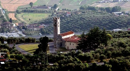 Massarosa, Italija: panoramica dall'alto