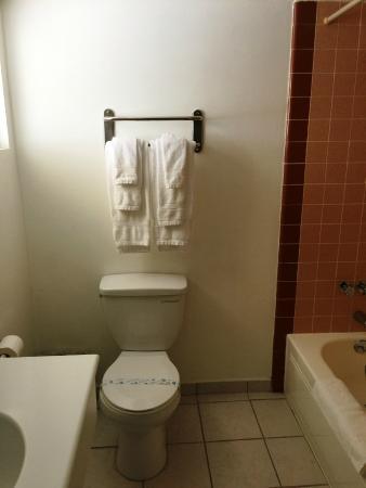 99 Palms Inn & Suites: Bathrooms Sanitized