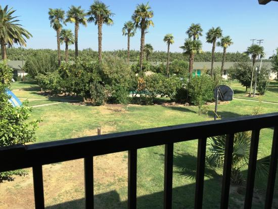 99 Palms Inn & Suites: Balcony View from Family Suites
