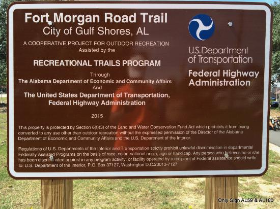 Fort Morgan Road Trail