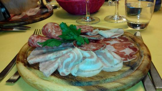 Province of Vercelli, Włochy: Osteria Del Vecchio Asilo