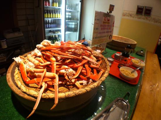 buffet giant crab picture of fujinobou kaen hotel oyama cho rh tripadvisor com giant crab buffet in myrtle beach giant crab buffet prices