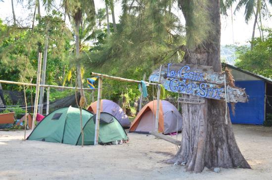 Pulau Kapas, Malaysia: The Longsha Campsite