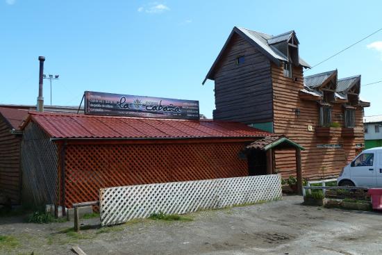 Coronel, Chile: Gegenüber: Restaurants der Playa Blanca