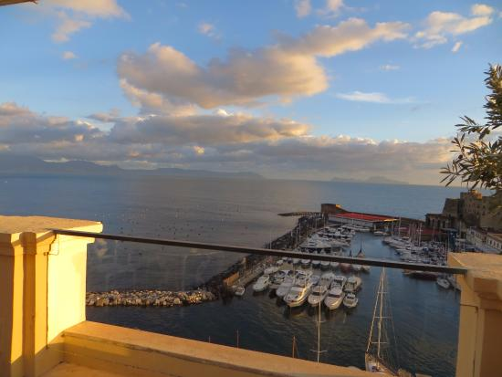 Harbour From The Bar Picture Of La Terrazza Naples