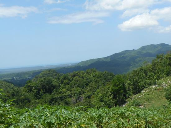 Hanover Parish, Jamaica: The view of Jamaica's mountains!