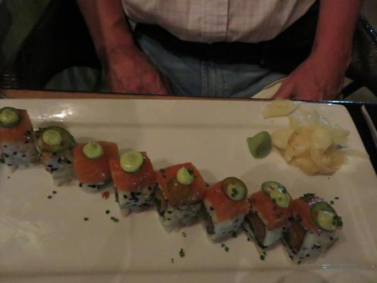 BLT Steak Miami: Förrätt på sushi