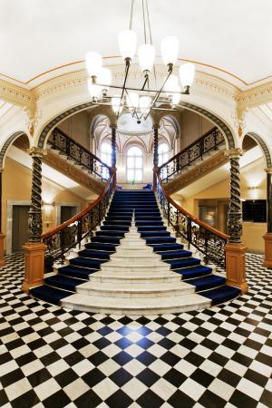 Elite Hotel Knaust : Knaust trappen