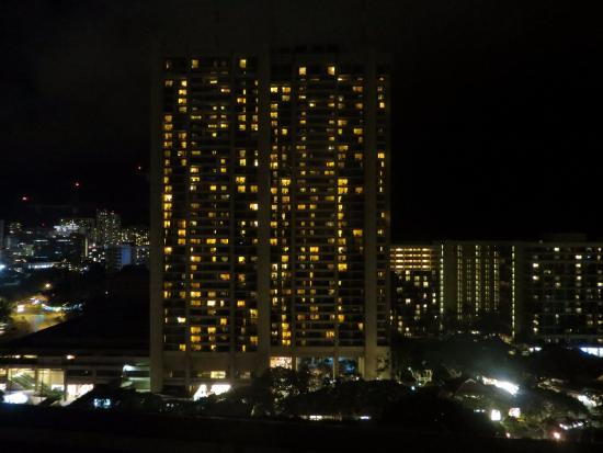 Grand Waikikian by Hilton Grand Vacations: night view
