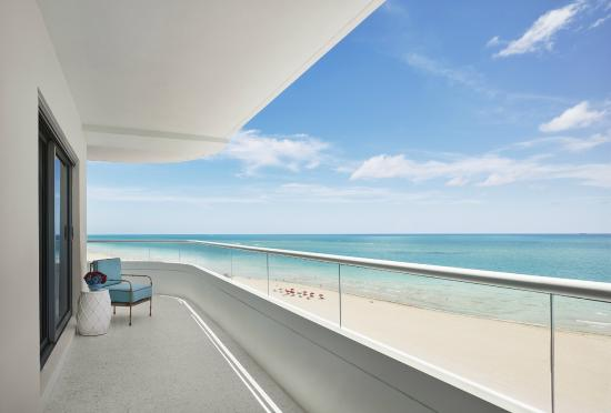 A Hotel Miami Beach Balcony View