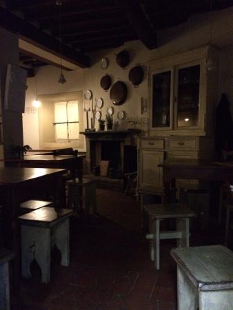 Vicchio, Italia: Mess hall