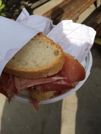 Vicchio, Italia: Sandwich