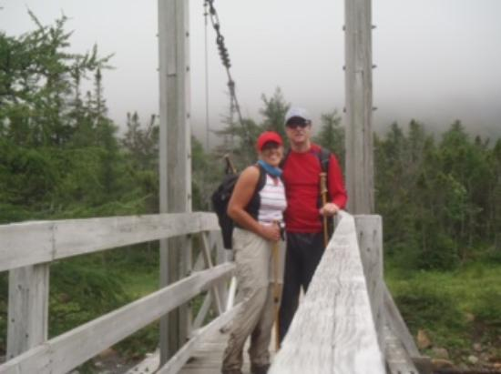 Norris Point, Canadá: On one of hikes