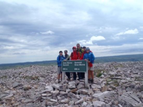 Norris Point, Canada: First group to the summit of Gros Morne