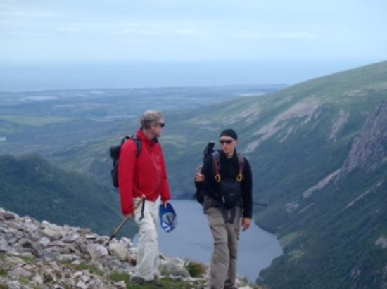 Norris Point, Canada: On top of Gros Morne...wonderful views all around