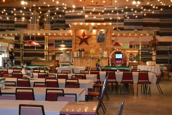 High Country Guest Ranch: Dakota Hall decked out for a reunion