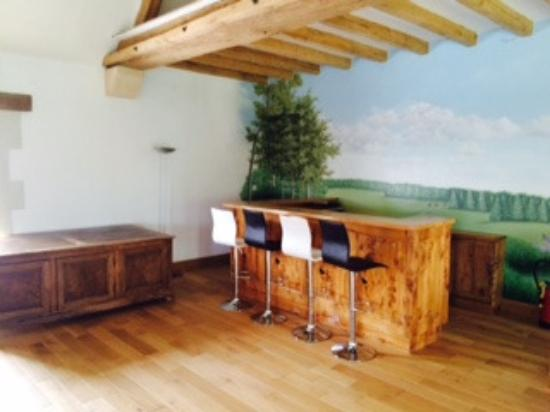 Domaine de La Poignardiere: Salon au 1er étage