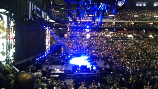 Madison Square Garden: View From Our Seats In Section 117, Row V (side View) Good