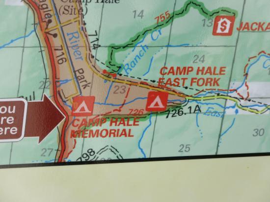 Camp Hale map