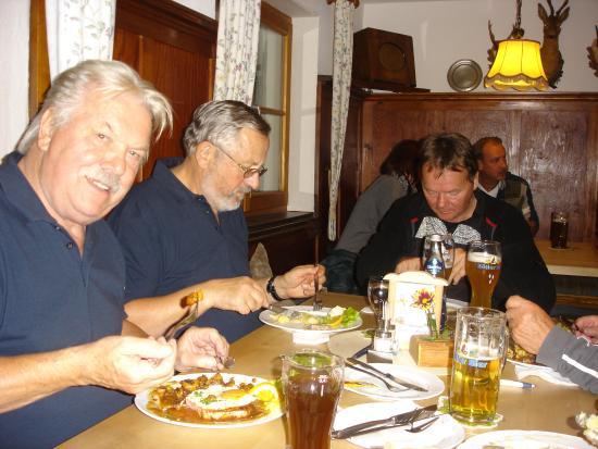 Ostrachwellen: den Oldies schmeckt es