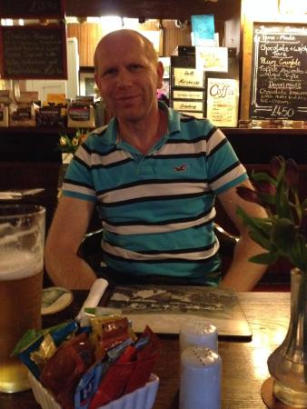 The Staghunters Inn: Lovely menu choices