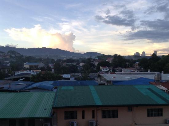 Cebu Grand Hotel: テラスから