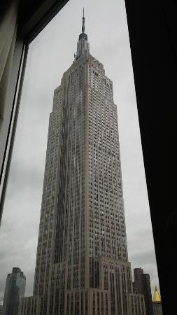 View of Empire State Building from the Hotel Room Picture of