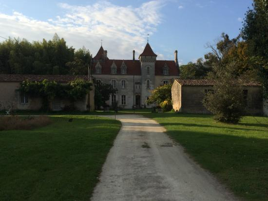 Saint Fort sur Gironde, França: Gesamtansicht